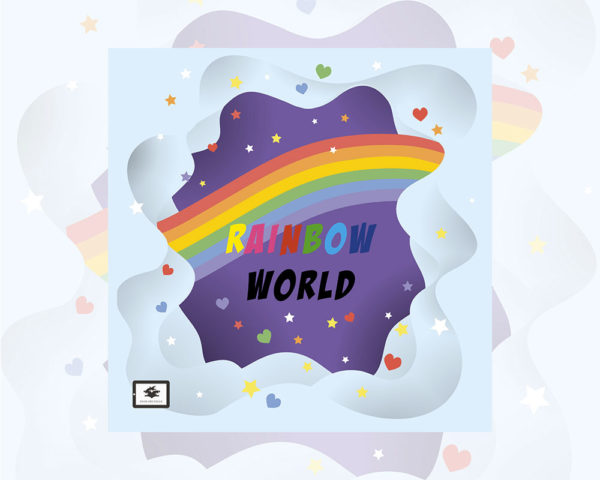 eBook cover for Book Prunelle's Rainbow World
