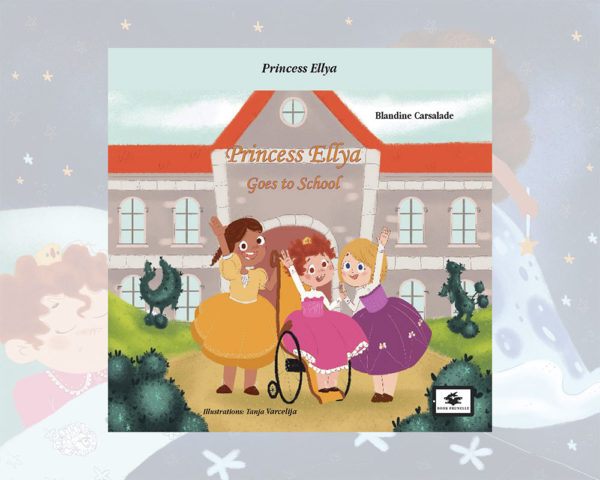 eBook cover for Book Prunelle's Princess Ellya goes to school